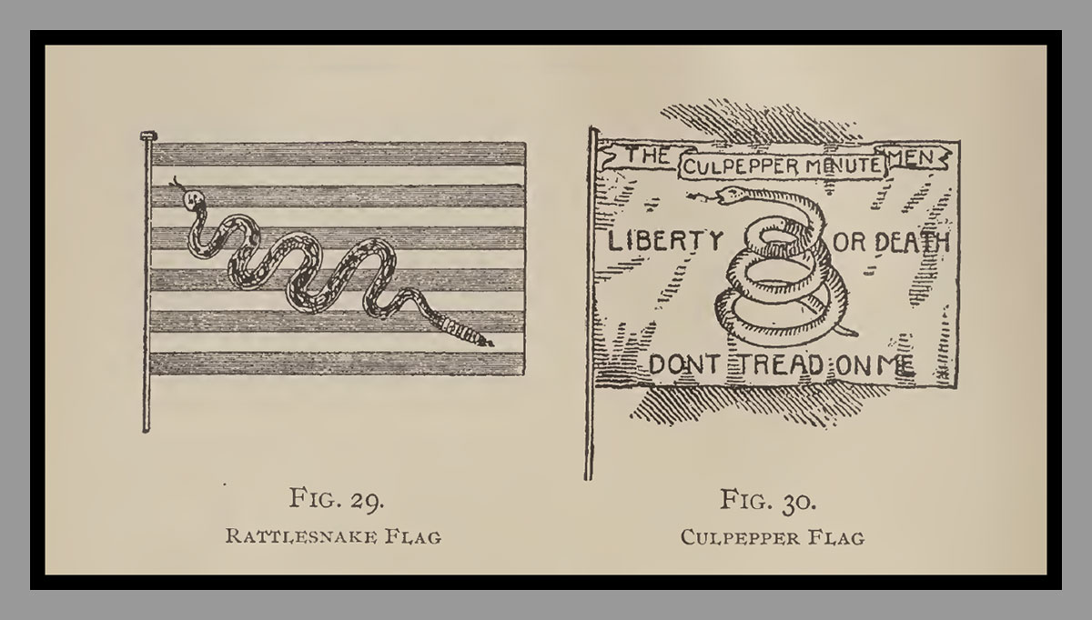 The Rattlesnake Flag an The Culpepper Flag
