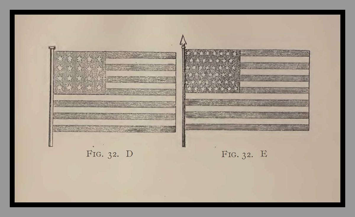 """The Flag of 1897 (""""Old Glory"""")"""