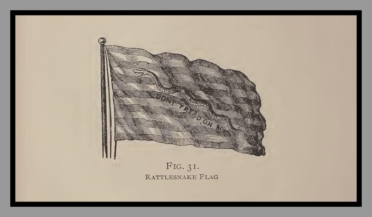 The Rattlesnake Flag